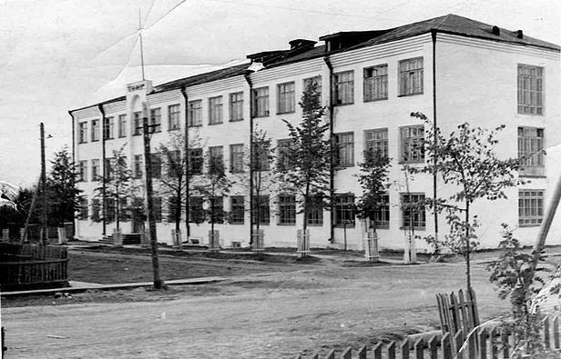 Станое здание техникума
